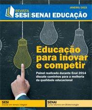 Revista SESI SENAI Educação - Capa de JANEIRO/2015
