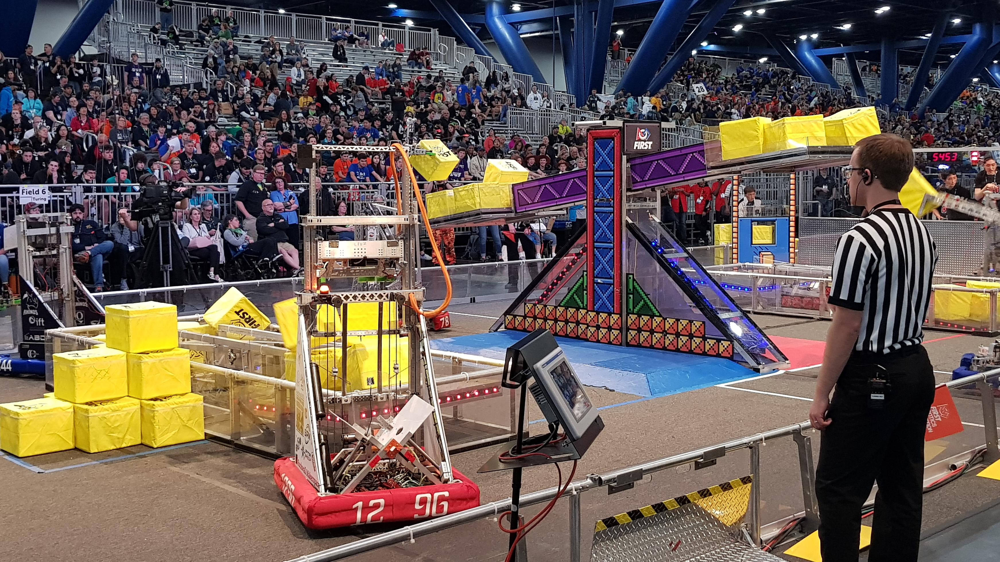 Tem muita coisa acontecendo no World Festival, o mundial de robótica. Saiba tudo!