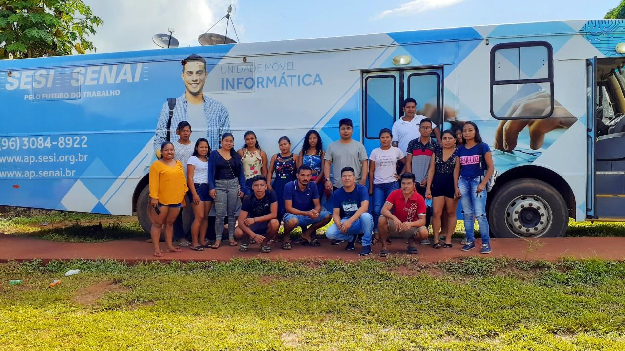 SESI e SENAI oferecem qualificação profissional na região do Oiapoque