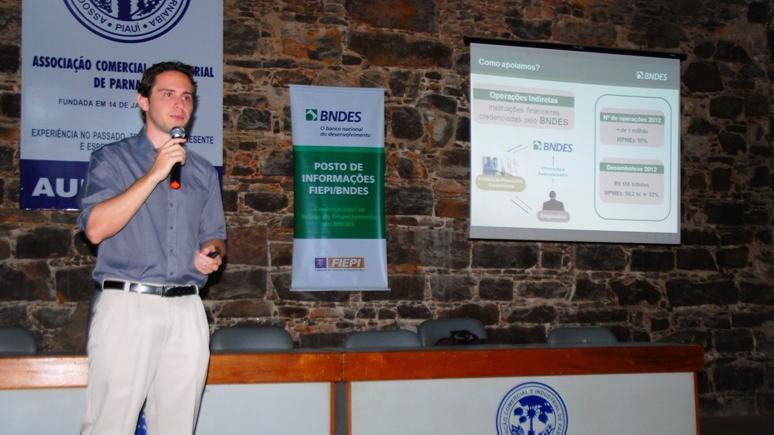 Linha de financiamento é tema de palestra em Parnaíba