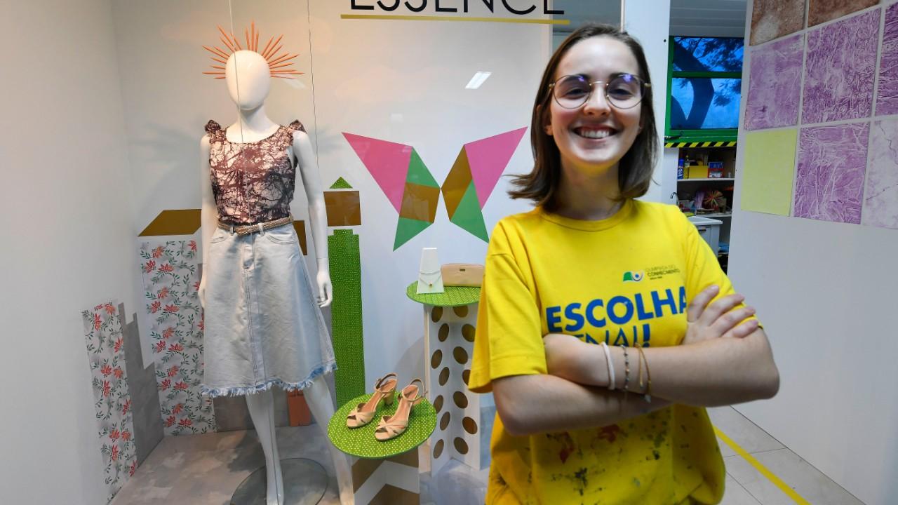 Fã do Legião Urbana, a criativa Gabriele sonha em conhecer o mundo após a WorldSkills 2019