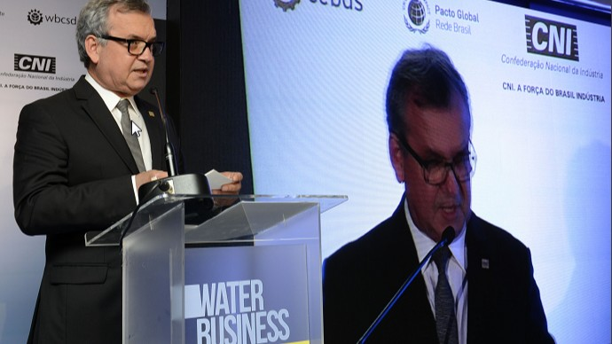 Indústria é fundamental na solução de desafios de escassez de água