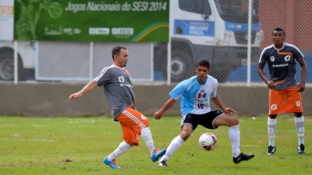Alagoas estreia com vitória do futsal e derrota do futebol de campo nos Jogos Nacionais do SESI