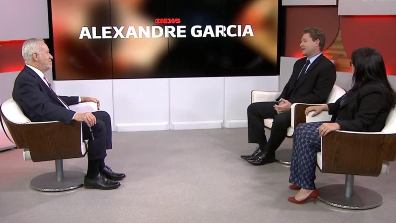 Estudo da CNI sobre obras paradas é destaque no programa GloboNews Alexandre Garcia