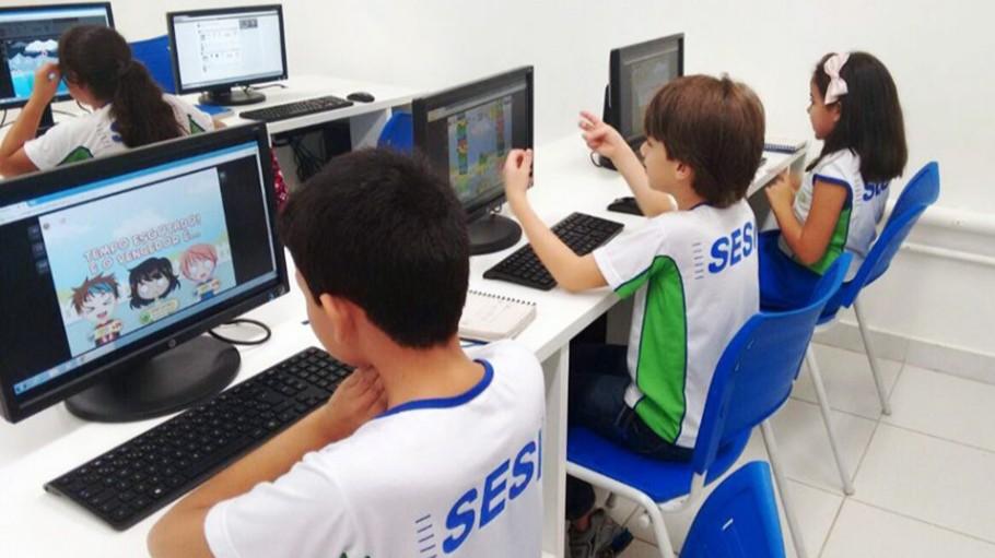 Escolas do SESI estão entre as melhores da América Latina em plataforma de Matemática