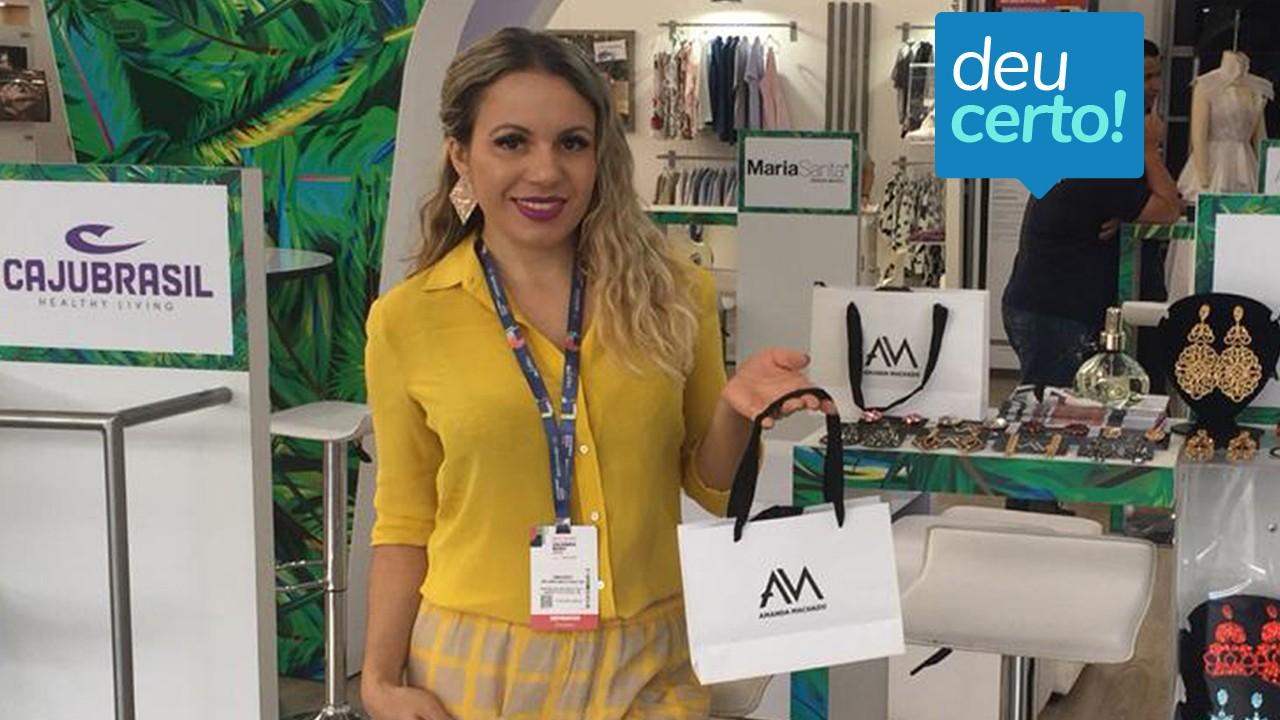 Designer brasileira ganha o mundo com apoio da Rede CIN