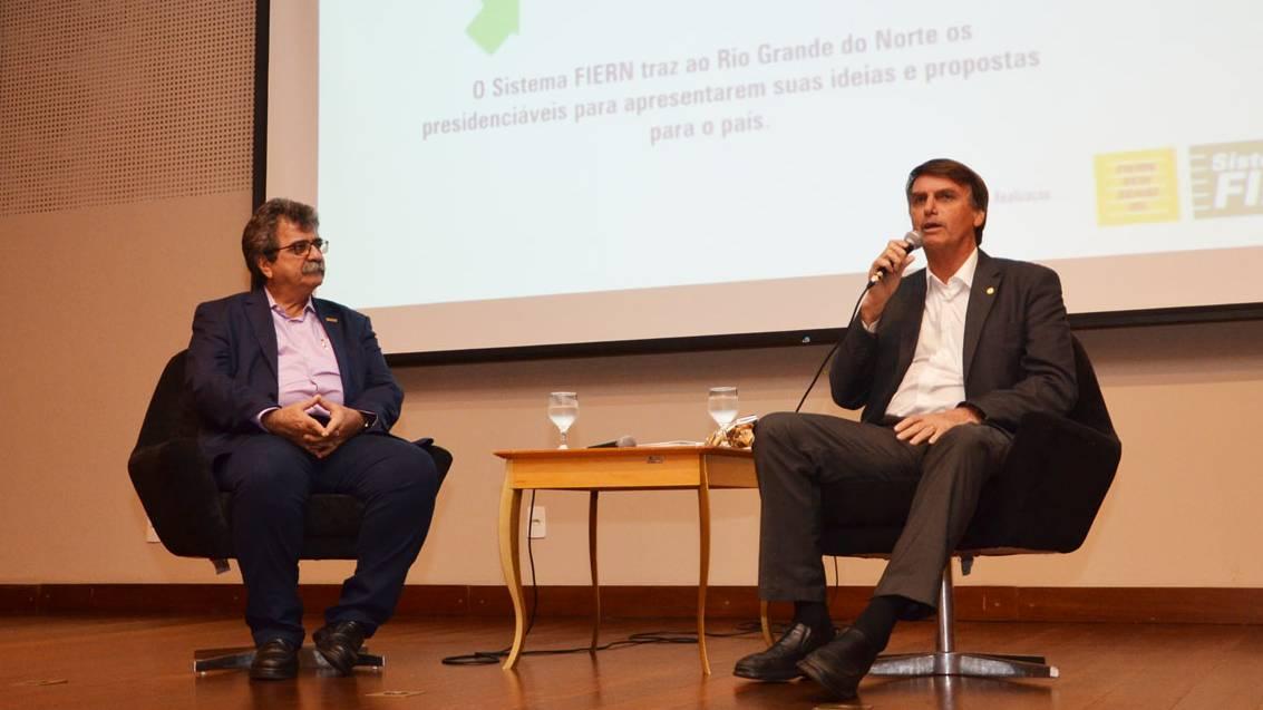 Bolsonaro defende reforma da Previdência, redução de impostos e privatizações