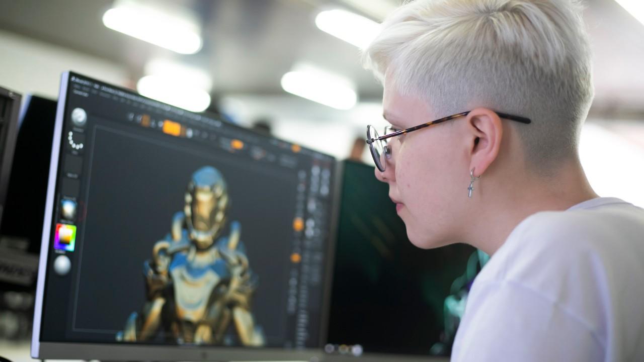 De olho no mercado de arte digital para games