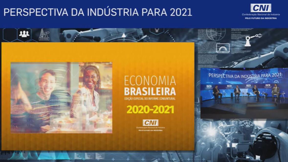 Coletiva virtual: CNI divulga previsões para a economia em 2021