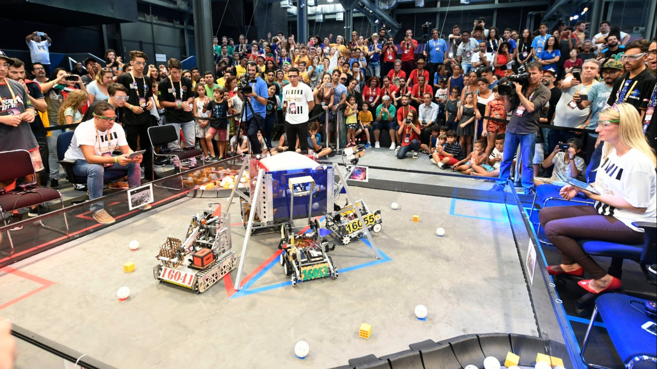 Inscrições abertas para o torneio SESI de Robótica FTC