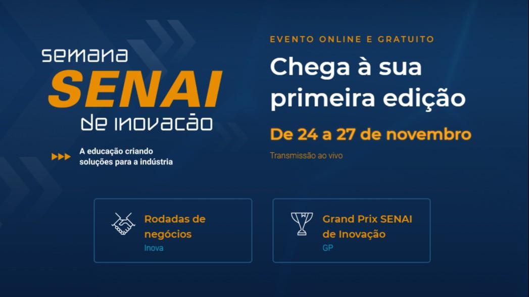 Confira os vencedores do Inova SENAI e do Grand Prix da Semana de Inovação