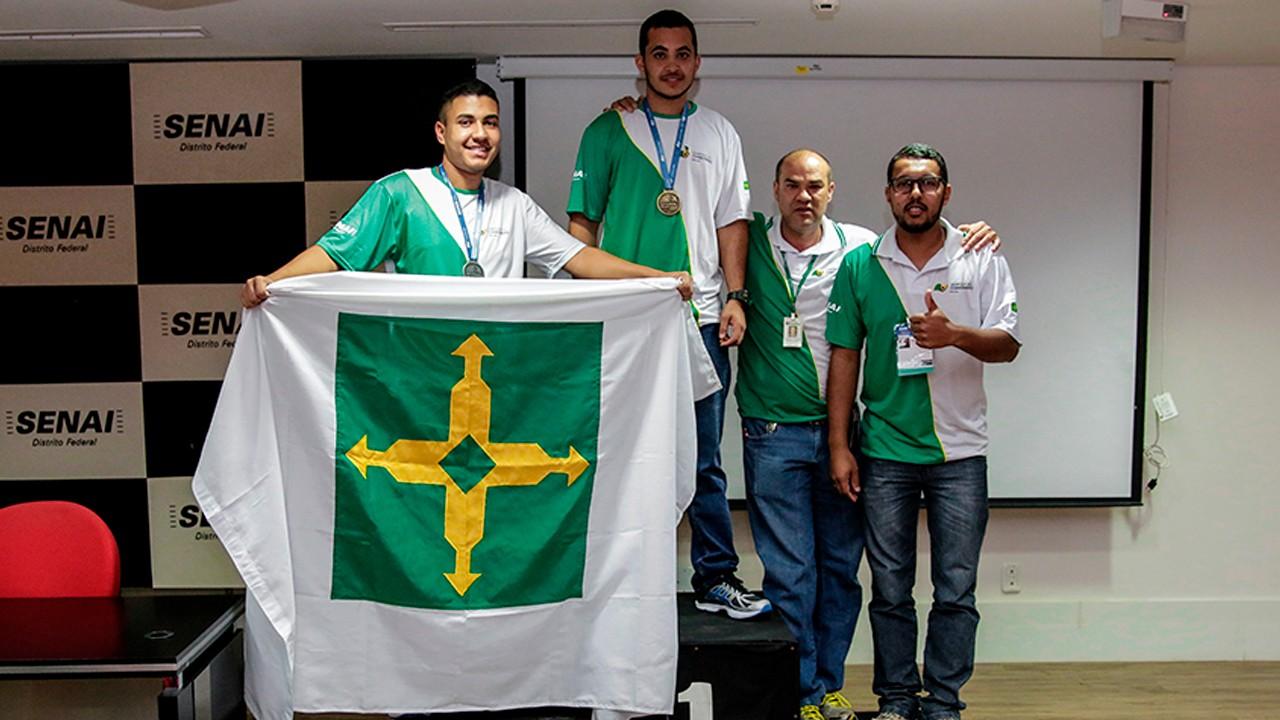 DF conquista quatro medalhas nas seletivas WorldSkills 2019