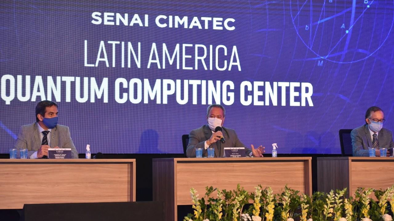 Primeiro centro de computação quântica no Brasil é inaugurado no SENAI CIMATEC