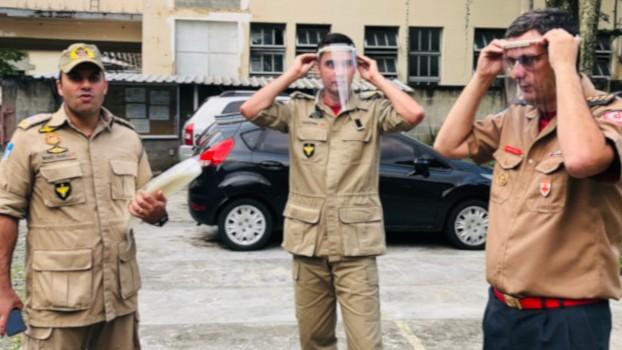 Parceria do SENAI do Rio de Janeiro com indústrias entrega 30 mil protetores faciais