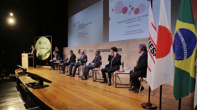 Entidades empresariais de Brasil e Japão discutem agenda de cooperação para 2030