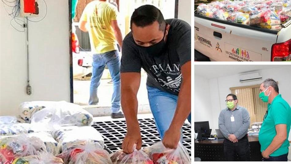 Companhia têxtil doa cestas básicas e máscaras à população vulnerável do Pará