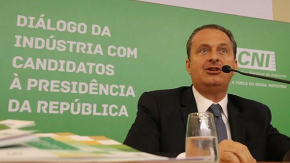 Morte de Eduardo Campos empobrece a política brasileira, diz CNI