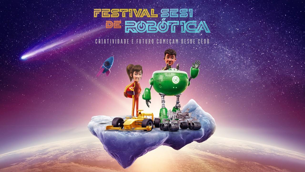 Festival SESI de Robótica vai reunir 1.200 alunos de escolas públicas e particulares no Rio de Janeiro