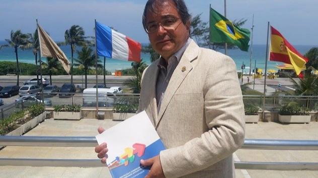 Antonio Carlos Siqueira da Silva, co-autor do Guia de Exportação do Programa de PI da CNI