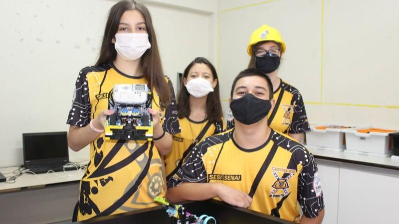 Torneio SESI de Robótica 2021: conheça as equipes da Região Sul