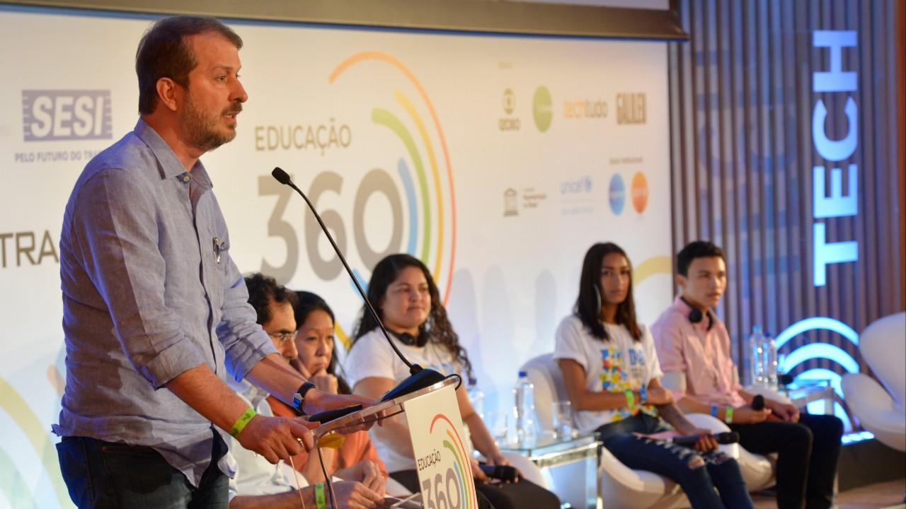Novo ensino médio é inclusivo para a juventude, diz diretor do SESI e do SENAI