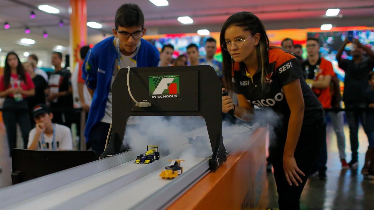 #HajaCoração: acompanhe as corridas da F1 in Schools