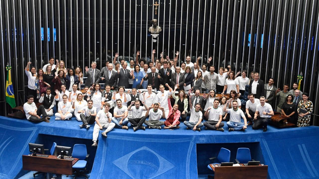Senado comemora os 110 anos da educação profissional no Brasil