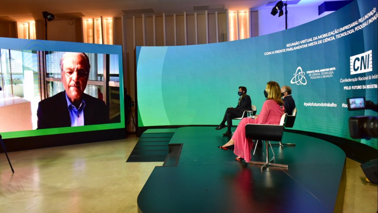 Investimento em inovação é decisivo para minimizar efeitos da covid-19, afirma Robson Andrade