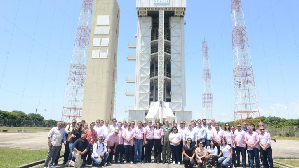 Missão Empresarial da FIEMA visita Centro de Lançamento de Alcântara