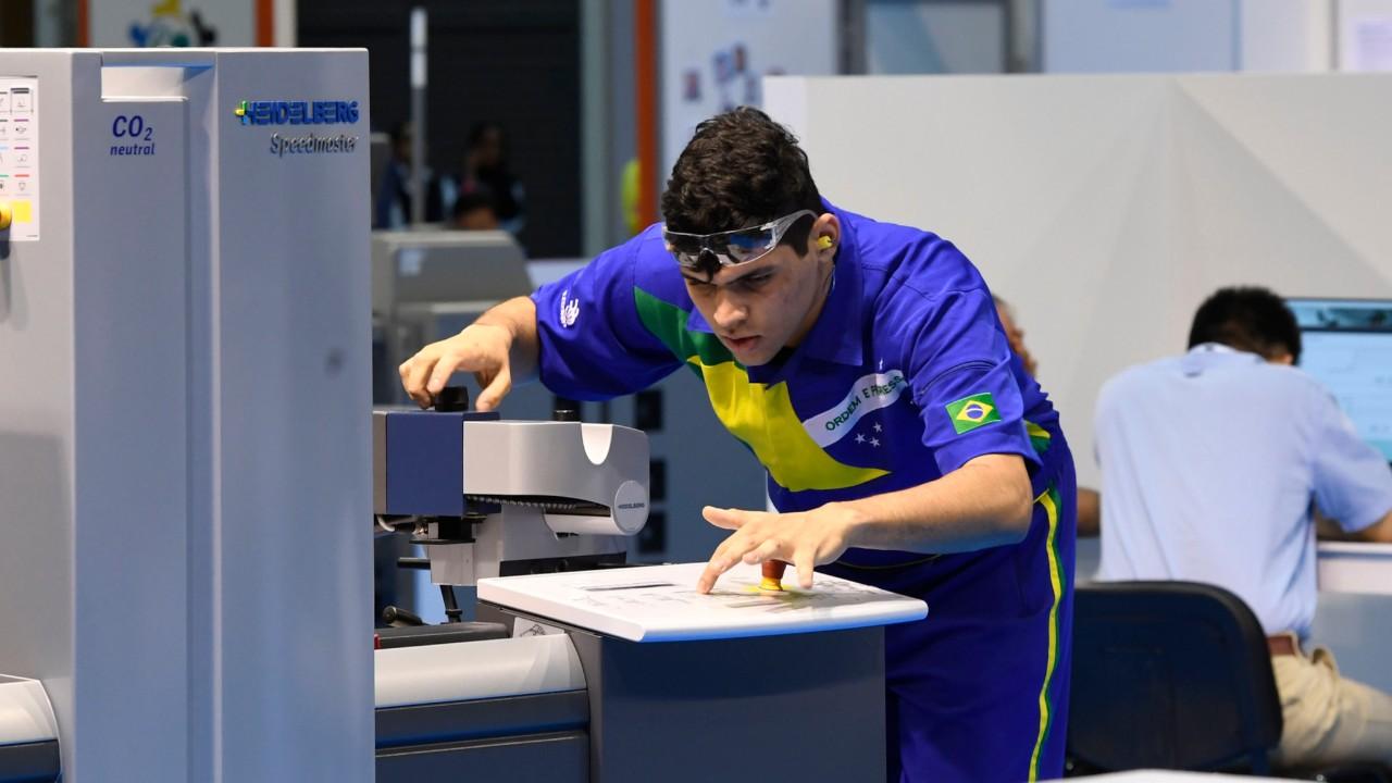 Porto Alegre sedia seletiva da WorldSkills 2019 em Tecnologia de Mídia Impressa