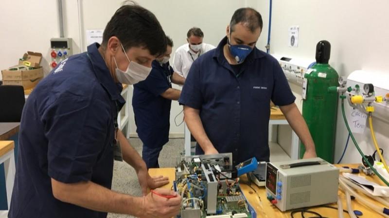 SENAI de Santa Catarina restaurou 55 ventiladores pulmonares