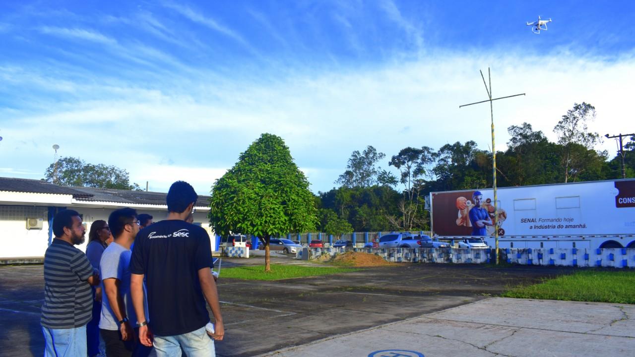 SENAI Amapá lança curso de pilotagem de drones