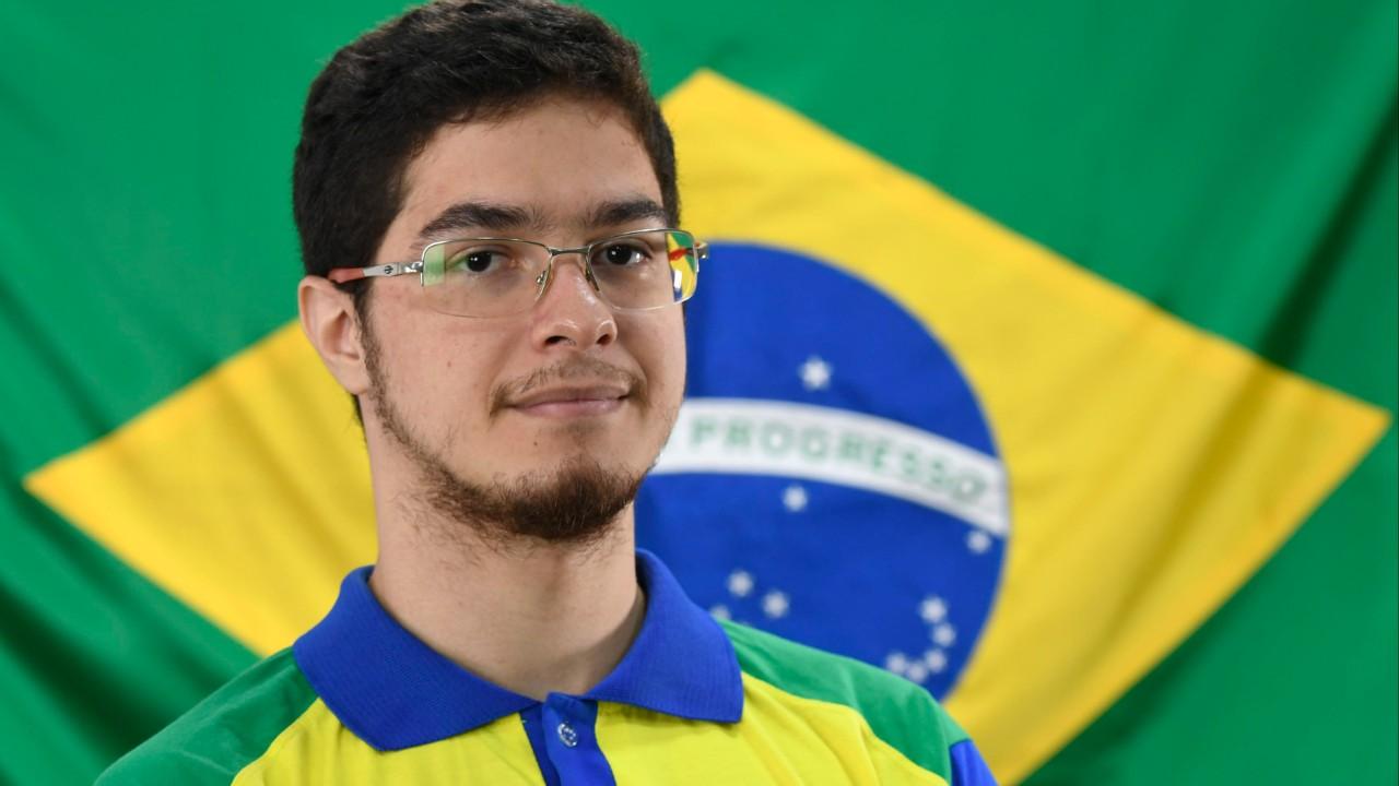 Luiz Fernando aposta na capacidade lógica para conquistar o ouro em Manufatura Integrada