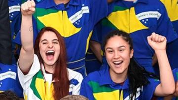 Mulheres se destacam nas competições de serviços na Olimpíada do Conhecimento
