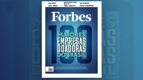 SENAI entra na lista da Forbes de maiores doadores contra o coronavírus