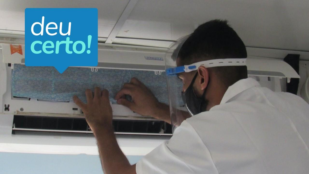 Salvar: filtro para ar-condicionado protege contra o coronavírus