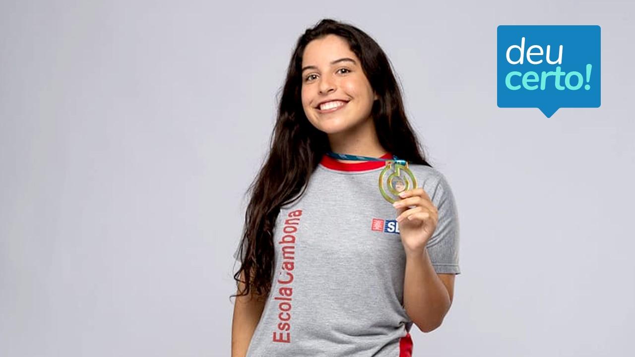 Estudante do SESI Alagoas é finalista do 'Nobel da Educação'