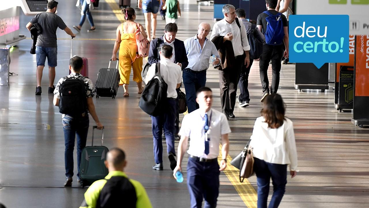 Aeroportos concedidos atendem melhor os passageiros