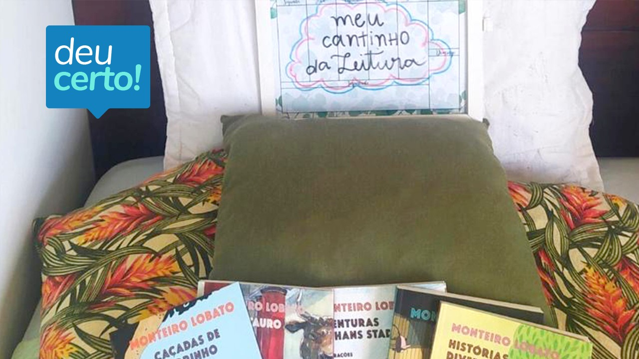 Ô de casa: projeto literário leva obras Ziraldo e Monteiro Lobato até os estudantes