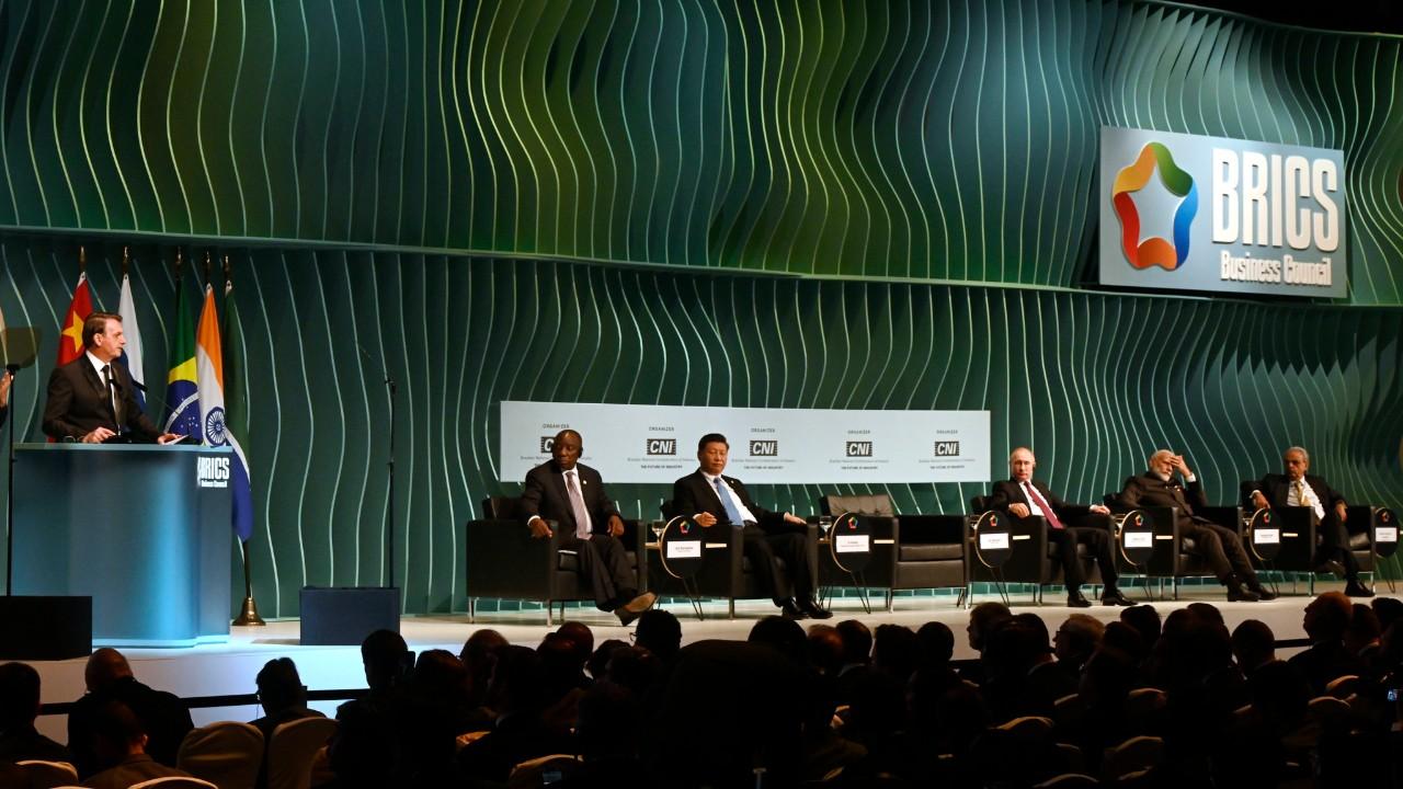 Chefes de Estado do BRICS se comprometem com agenda comum