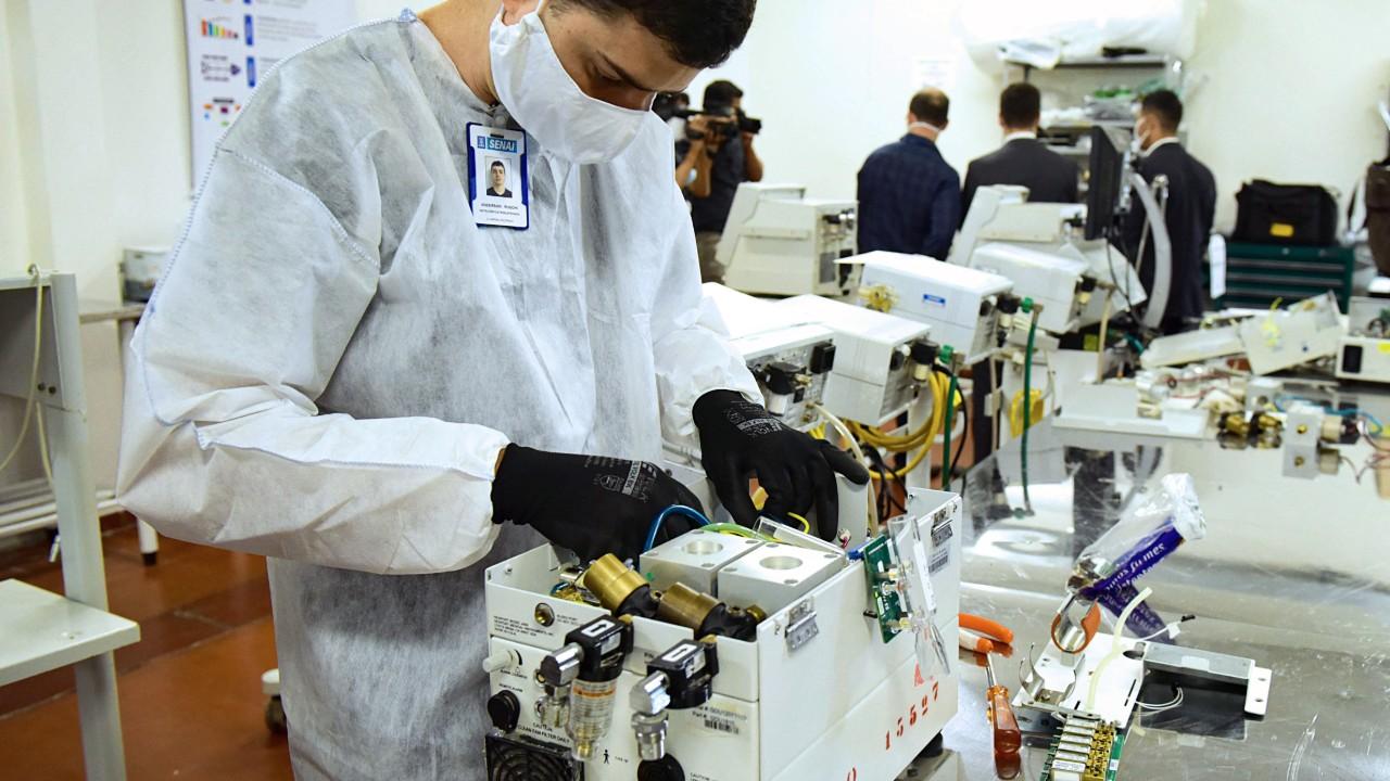 FIEMG auxilia empresa mineira na produção de respirador mecânico