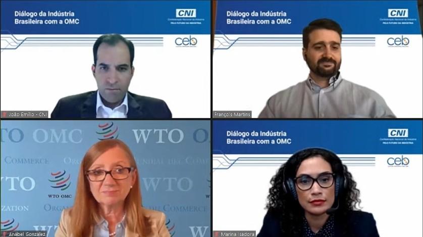 Indústria brasileira apresenta prioridades para comércio mundial à diretoria-geral da OMC