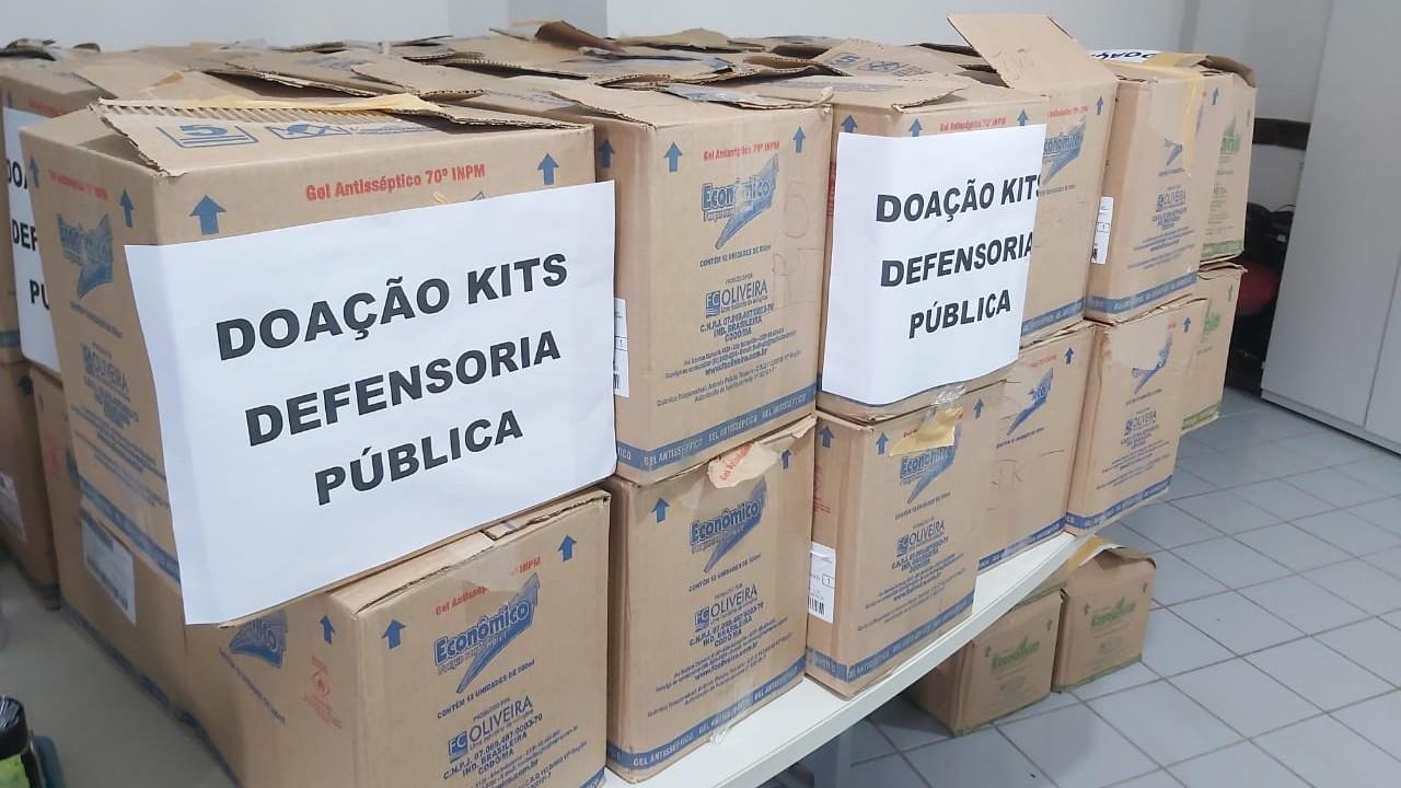 SESI do Maranhão faz entrega de kits de higiene para combate à covid-19