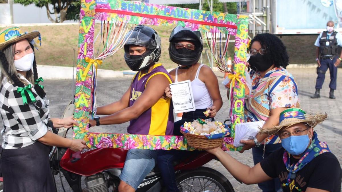 SENAI de Pernambuco promove São João solidário