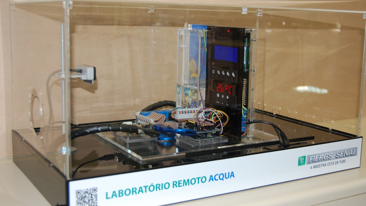 SENAI desenvolve laboratório que recebe comandos a distância