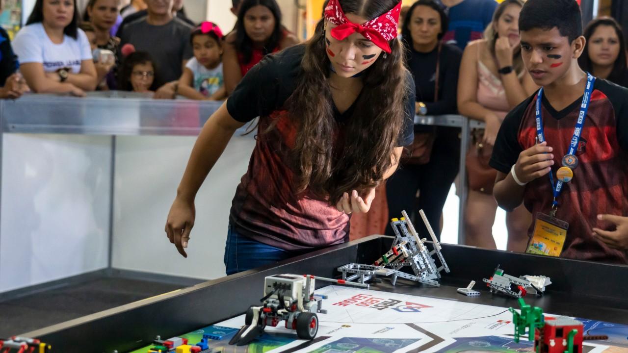 Torneio de robótica do Pará classifica quatro equipes para etapa nacional