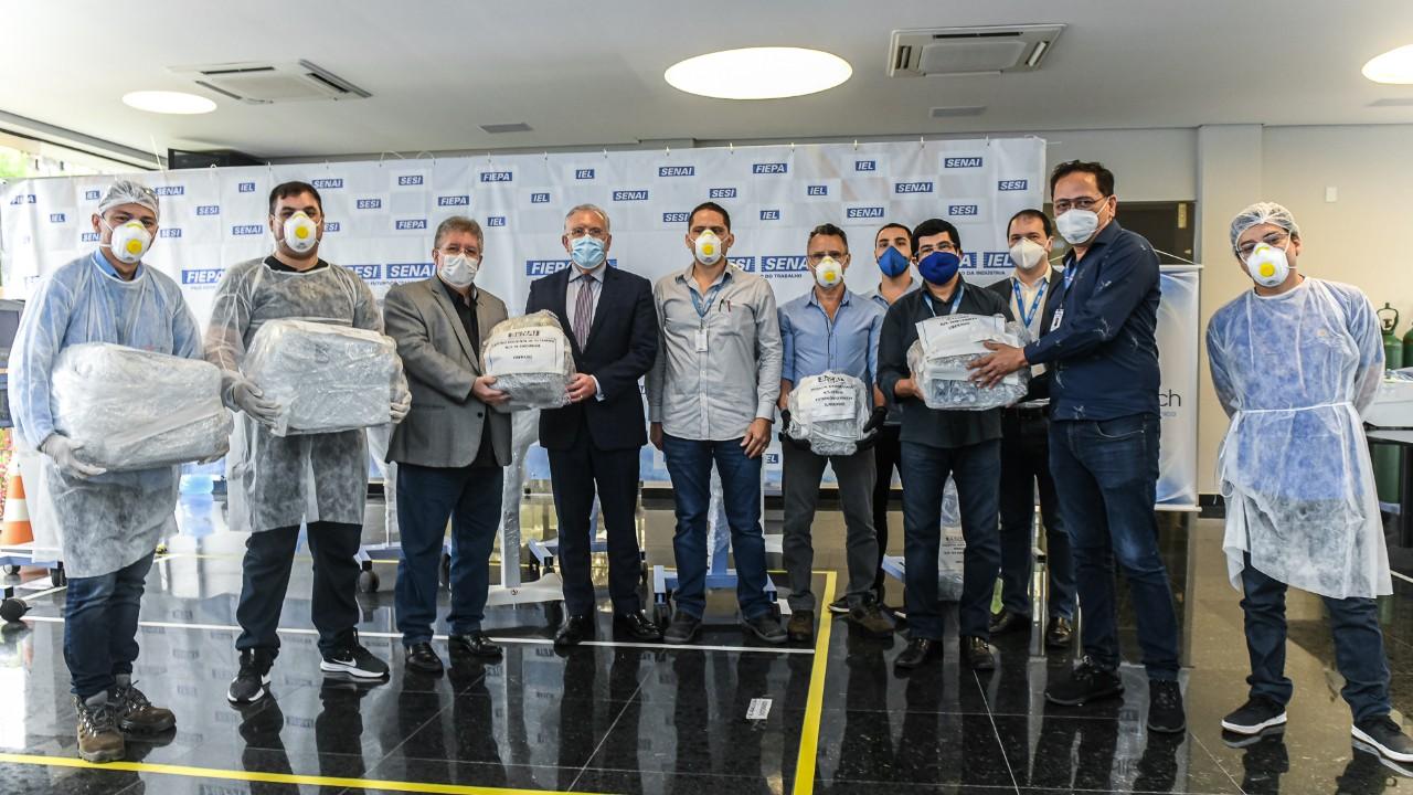 SENAI do Pará e parceiros alcançam a marca de 50 respiradores consertados