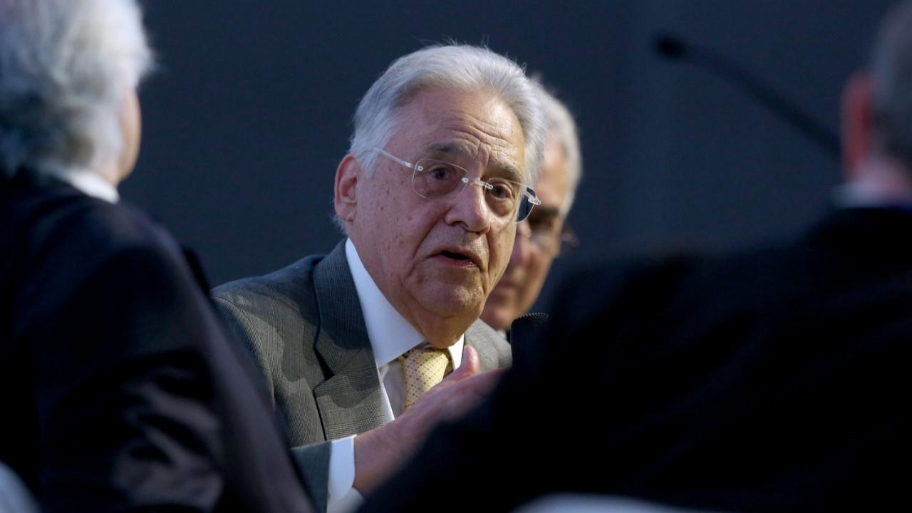 Sistema político atual compromete a governança, afirma FHC