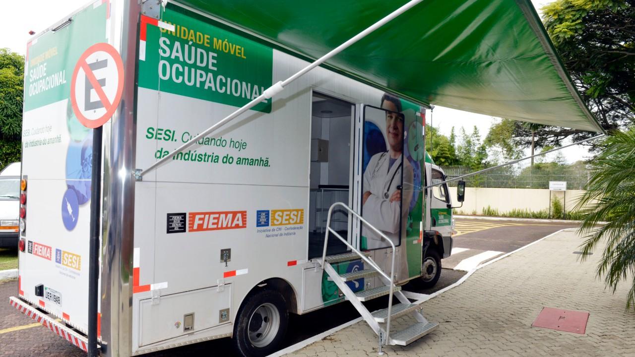 Unidades móveis do SESI vão ajudar no combate ao coronavírus no Maranhão