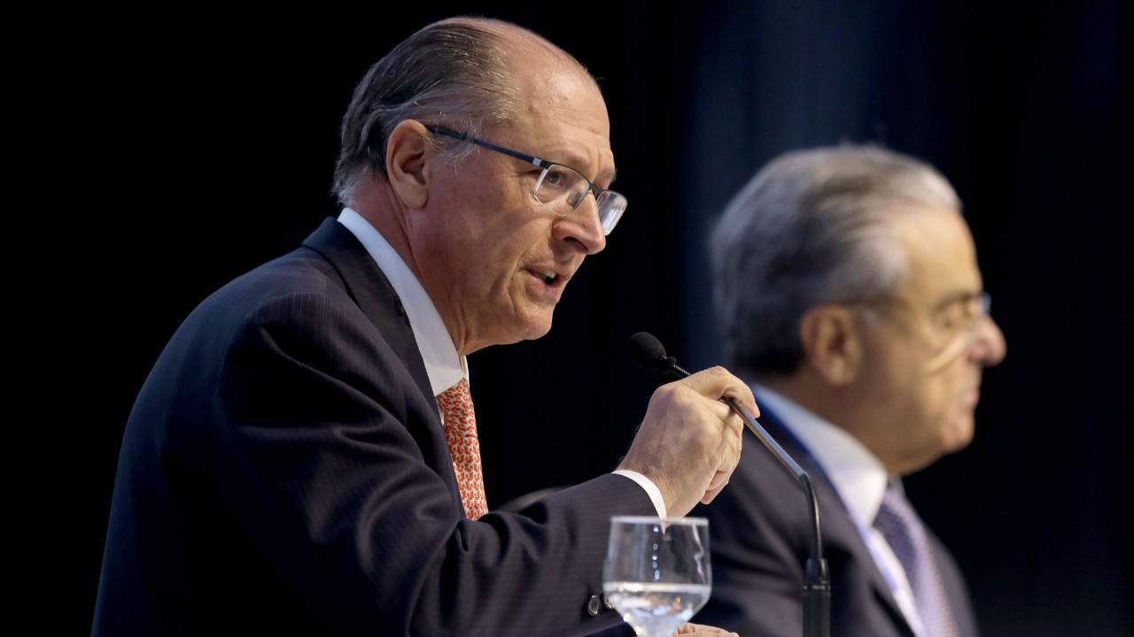 Se eleito, Geraldo Alckmin diz que fará reformas no primeiro semestre de mandato